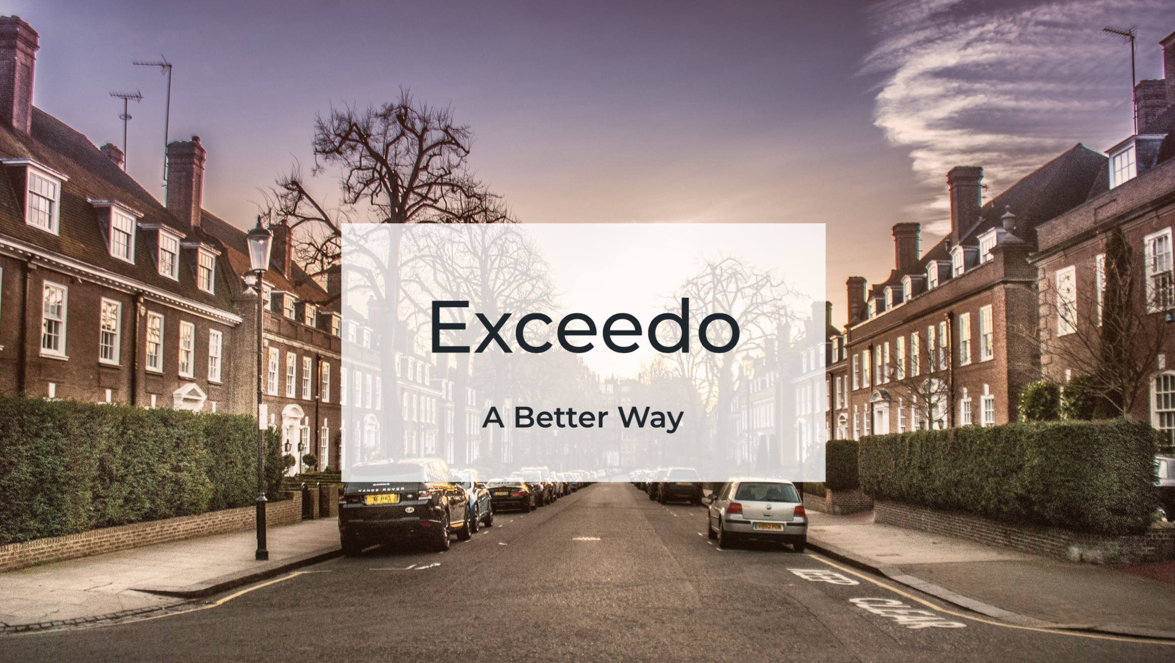 Exceedo Concierge Property Finder